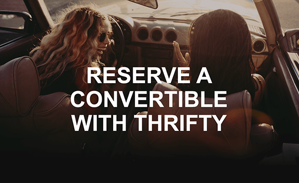 Thrifty Convertible Car Rental