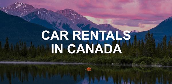 Canada Car Rentals Thrifty