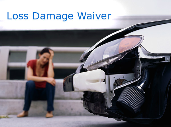 Rent A Car Loss Damage Wavier Thrifty
