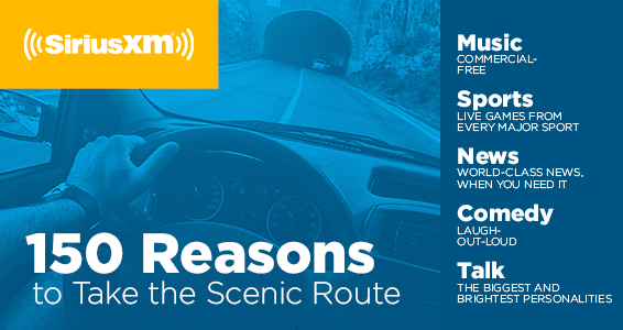 Add some joy to your ride with SiriusXM